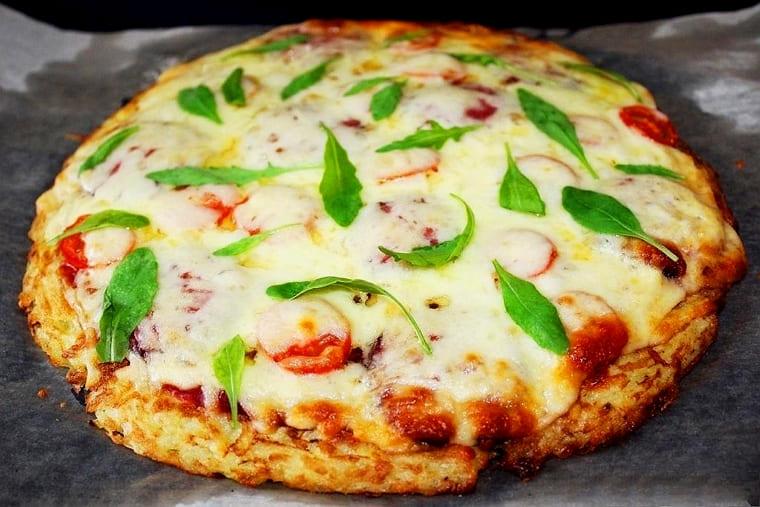 Вкусная картофельная пицца в духовке