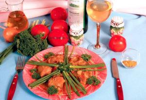 Курица в соусе карри со сливками или сметаной