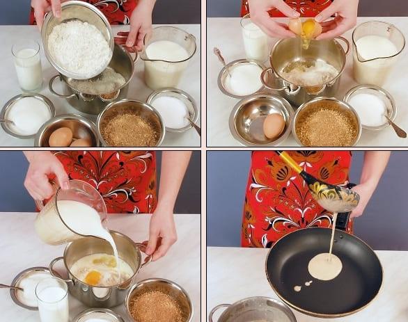 Как приготовить блины гречневые?