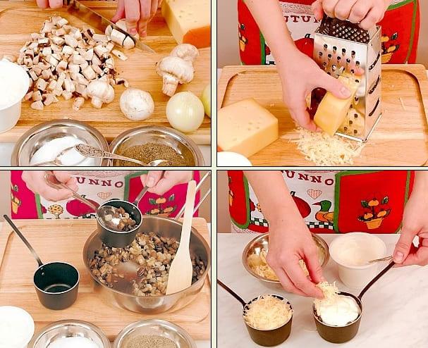 Жульен с грибами рецепт классический в духовке