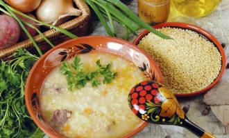 Суп кулеш рецепт с фото пошагово