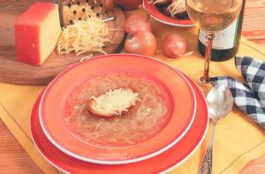 Французский луковый суп пошагово с фото
