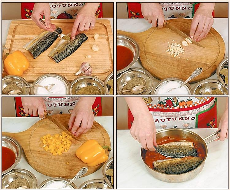 Скумбрия жареная рецепт с фото