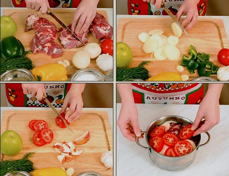 Хашлама из баранины пошаговый рецепт