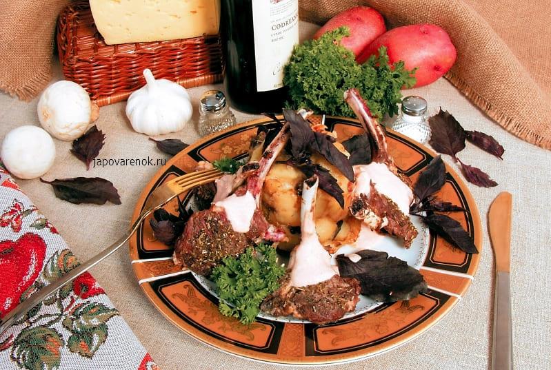 Края с запеченным картофелем рецепт с фото
