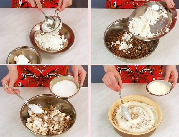 Как приготовить крупеник гречневый с творогом