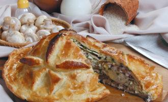 Курник классический пошаговый рецепт с фото
