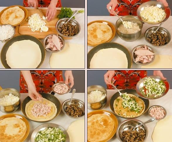 Рецепт приготовления курника в домашних условиях