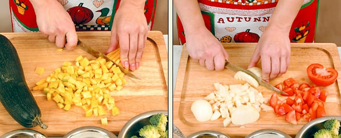 Рецепт рагу из овощей