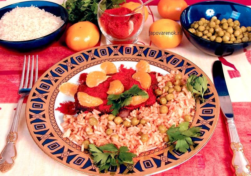 Печень с рисовой кашей пошаговый рецепт с фото