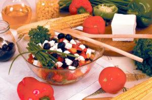 Греческий салат рецепт с брынзой