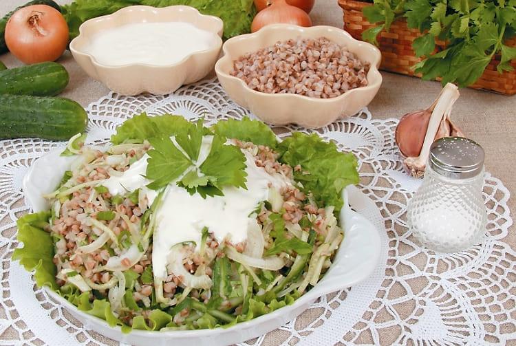 Салат Купеческий классический с овощами