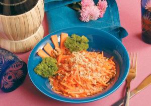Салат Лакомка с морковью