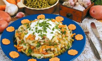Как приготовить салат Старорусский