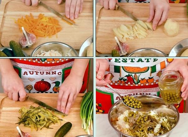Пошаговый рецепт с фото - салат Старорусский