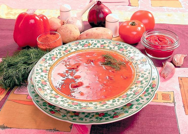 Суп гуляш из говядины классический рецепт