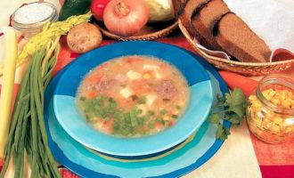 Какой суп приготовить из бараньих ребрышек