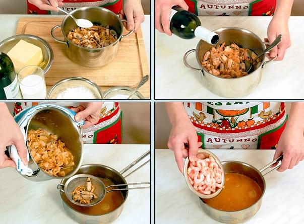 Как приготовить суп пюре из креветок