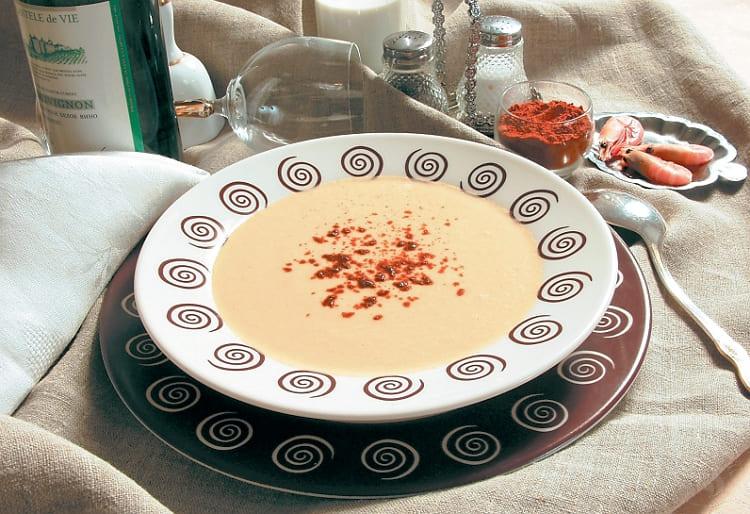 Пошаговый рецепт с фото супа-пюре с креветками