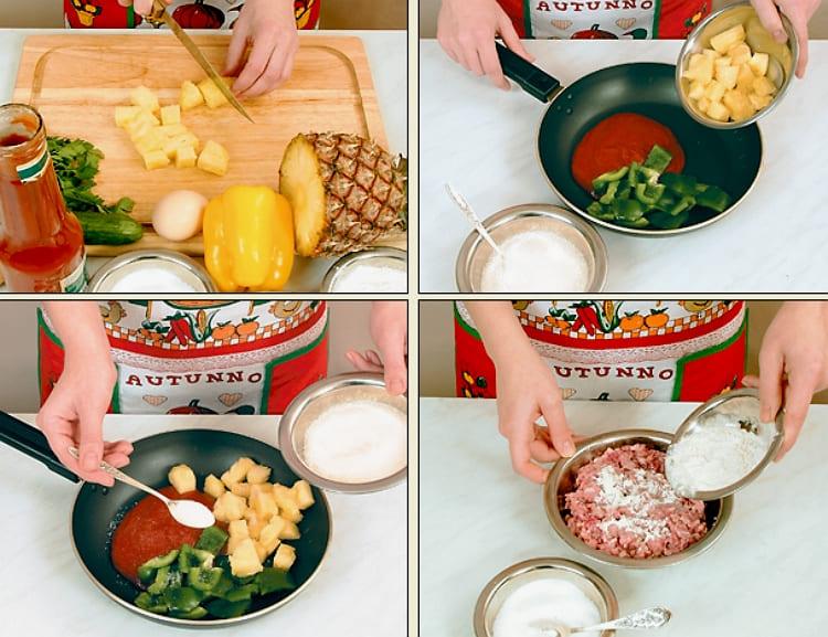 Свиные шарики пошаговый рецепт с фото