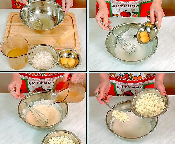 Готовим яичный суп на курином бульоне с рисом, сыром и свежей зеленью