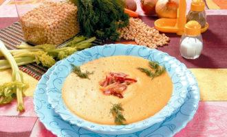 Как сварить гороховый суп-пюре