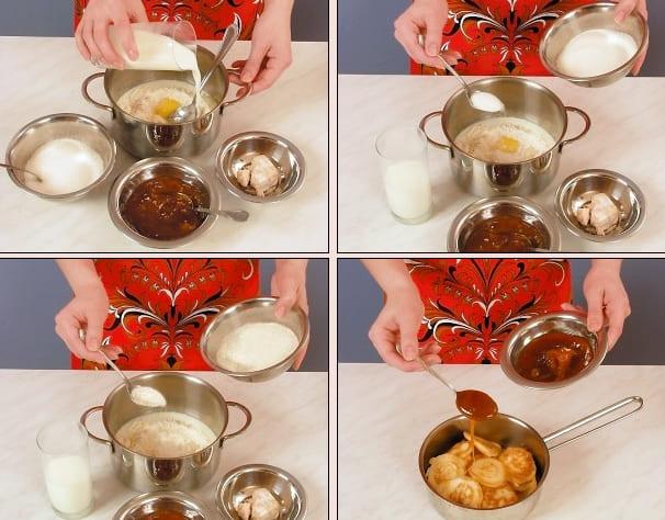 Как приготовить вкусные и пышные оладьи на дрожжах и молоке?