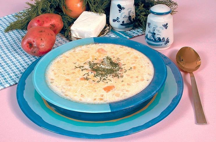 Как приготовить суп рыбный с плавленным сыром