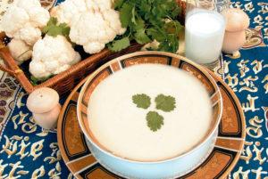 Вкусный суп-пюре из цветной капусты