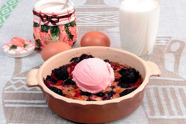 Как приготовить ягодную запеканку