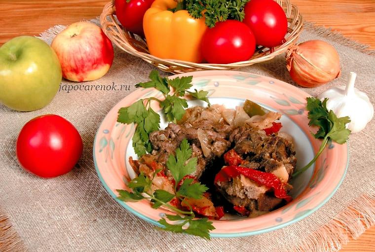 Рецепт хашламы из баранины по-армянски