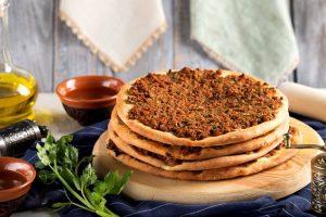 Лахмаджун – турецкая пицца с фаршем