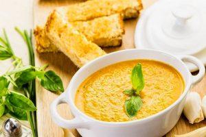 Томатный суп-пюре из помидоров