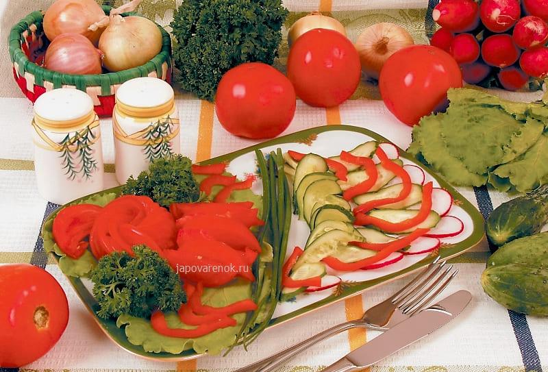 Овощная закуска - Ассорти