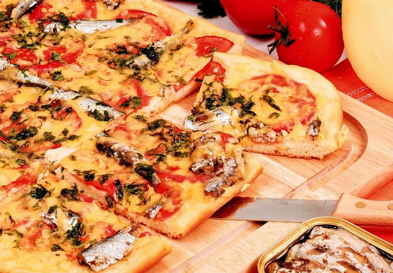 Пицца со шпротами рецепт в домашних условиях
