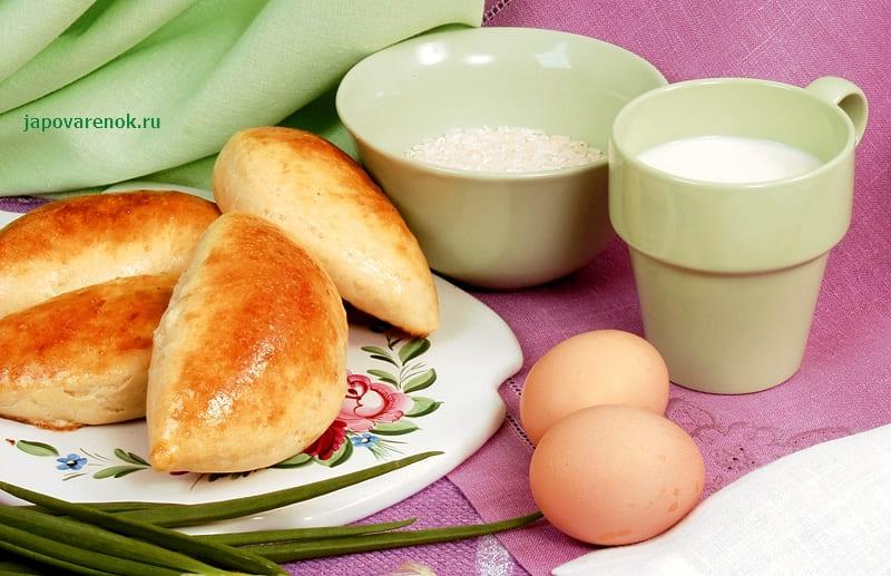 Вкусный рецепт пирожков с рисом и яйцом