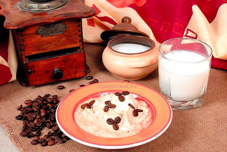 Крем кофейный на сливках