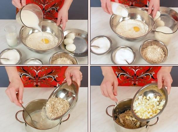 Рецепт с фото, сочники с овсянкой