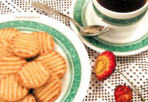 Песочное печенье Полосатики