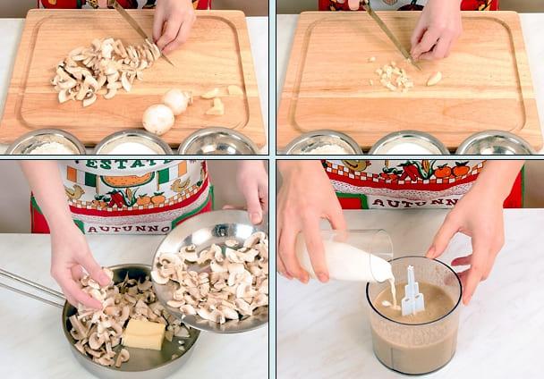 Рецепт грибного супа-пюре из шампиньонов вам в помощь