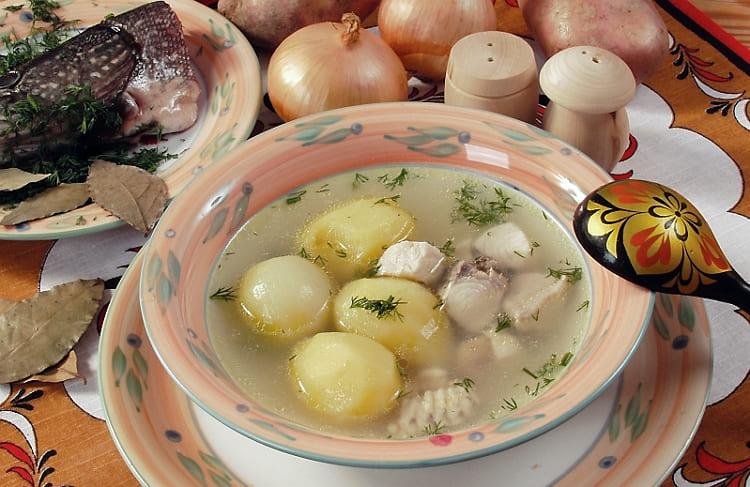 Как приготовить рыбный суп уха