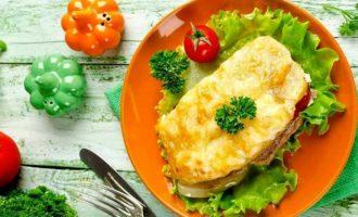 Мясо по французски с картошкой без майонеза