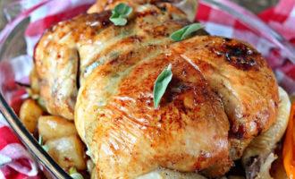 Как приготовить фаршированную курицу?