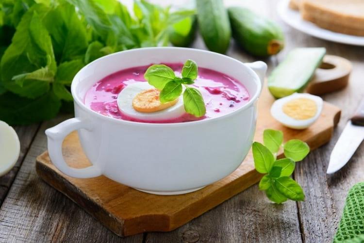 Готовим холодный свекольный суп