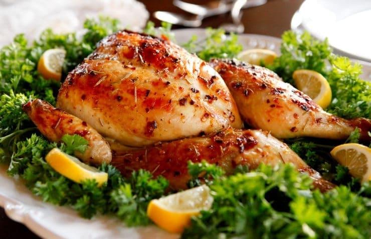 Рецепт курицы в фольге в духовке целиком