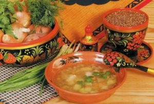 Куриный суп с гречкой и картошкой