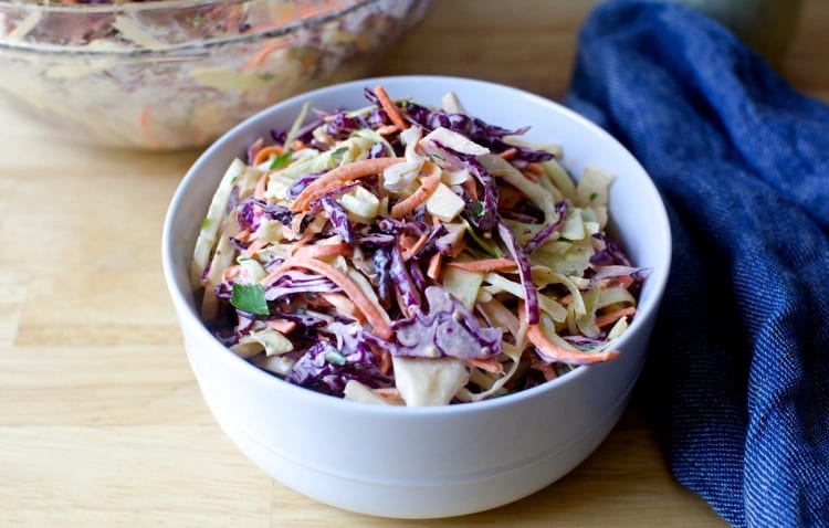 Популярный салат cole slaw (Коул слоу) американской кухни