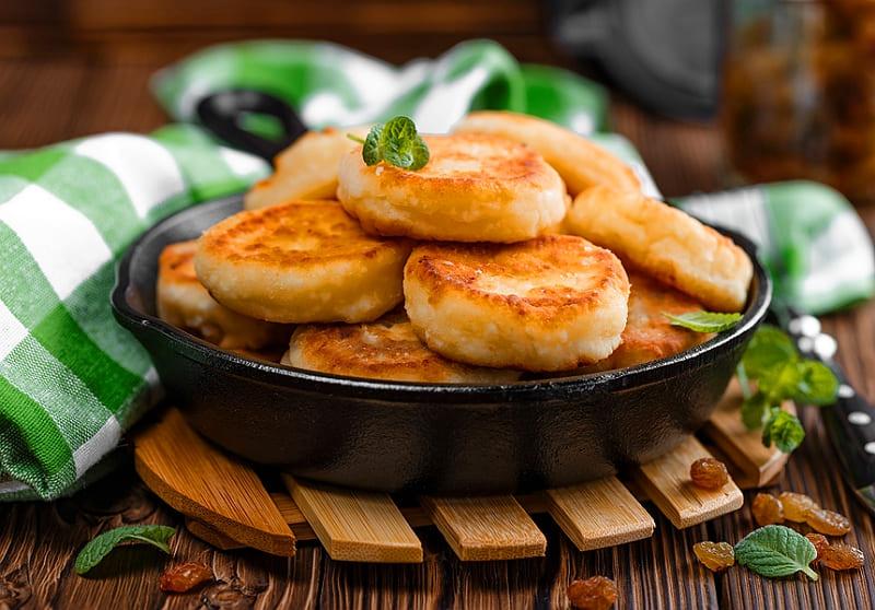 Творожные сырники рецепт на сковороде