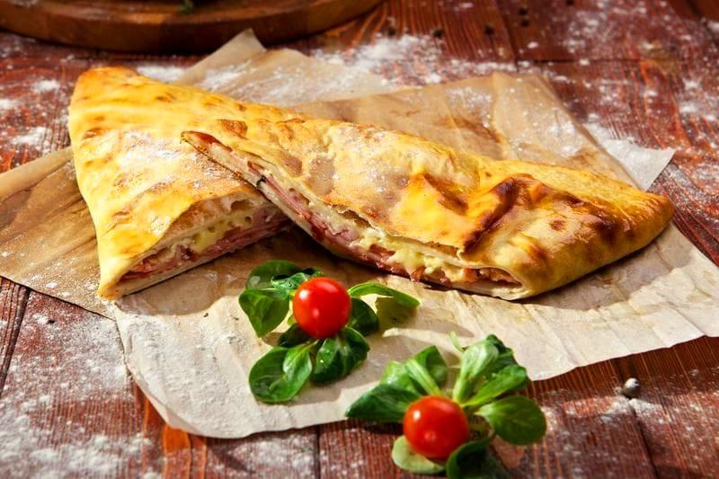 Закрытая пицца-кальцоне в домашних условиях рецепт