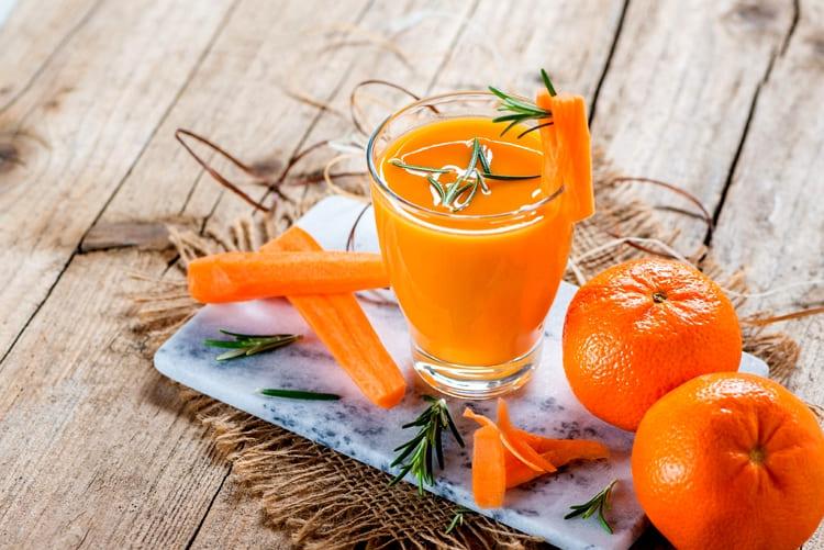 Морковно-апельсиновый микс